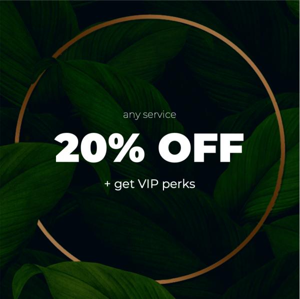 KB Skin & Bodywork VIP Discounts 20